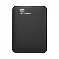 Western Digital Elements External Hard Drive - 500GB