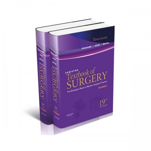 کتاب پزشکی | Sabiston Textbook of Surgery