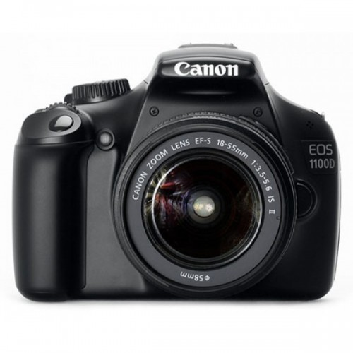 Canon EOS 1100D(Kiss X50) + 18-55mm IS II Lens