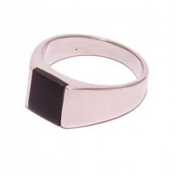 Classic Men's Onyx Ring