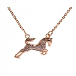 Horse Pendant Geweled Designs