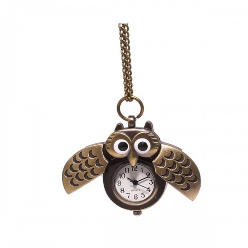 Hours Owl Necklace Designs