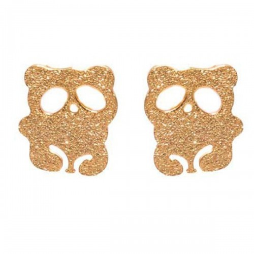 Bear Earrings Nail Designs