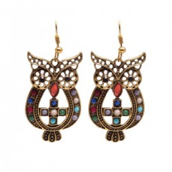 Earrings Owl 2