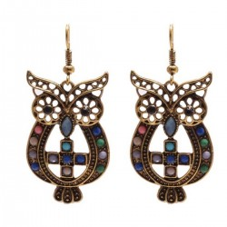 Earrings Owl 3