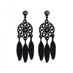 Pendant Earrings Dreamcatcher