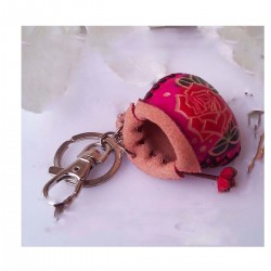 Pendant Leather Flowering