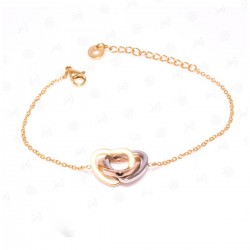 Cartier Bracelet Three Hearts