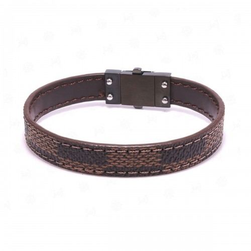 Leather Wristband Code - 10